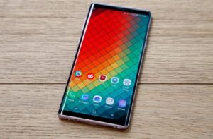 The Samsung Galaxy Note 9 will be updated to Android 9 Pie on January 15