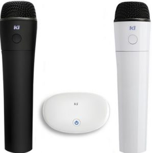 Xiaomi are some karaoke microphones that connect to the television